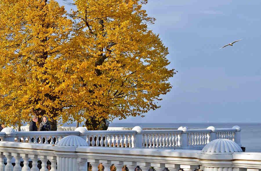 Погода в Евпатории в октябре. Переменчивые дни в Евпатории