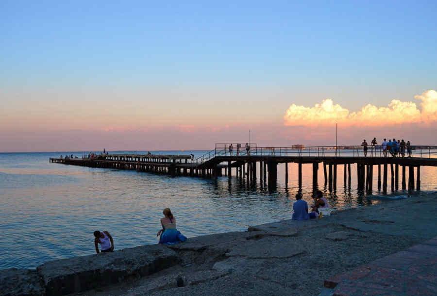 Погода в Евпатории на завтра: город радует хорошей погодой