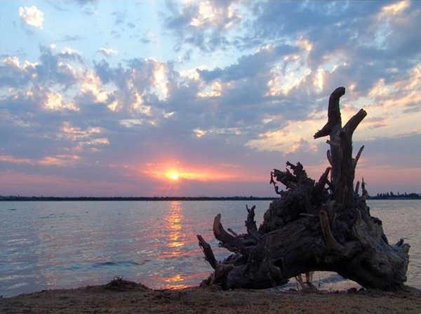 Фото озера Мойнаки в Евпатории